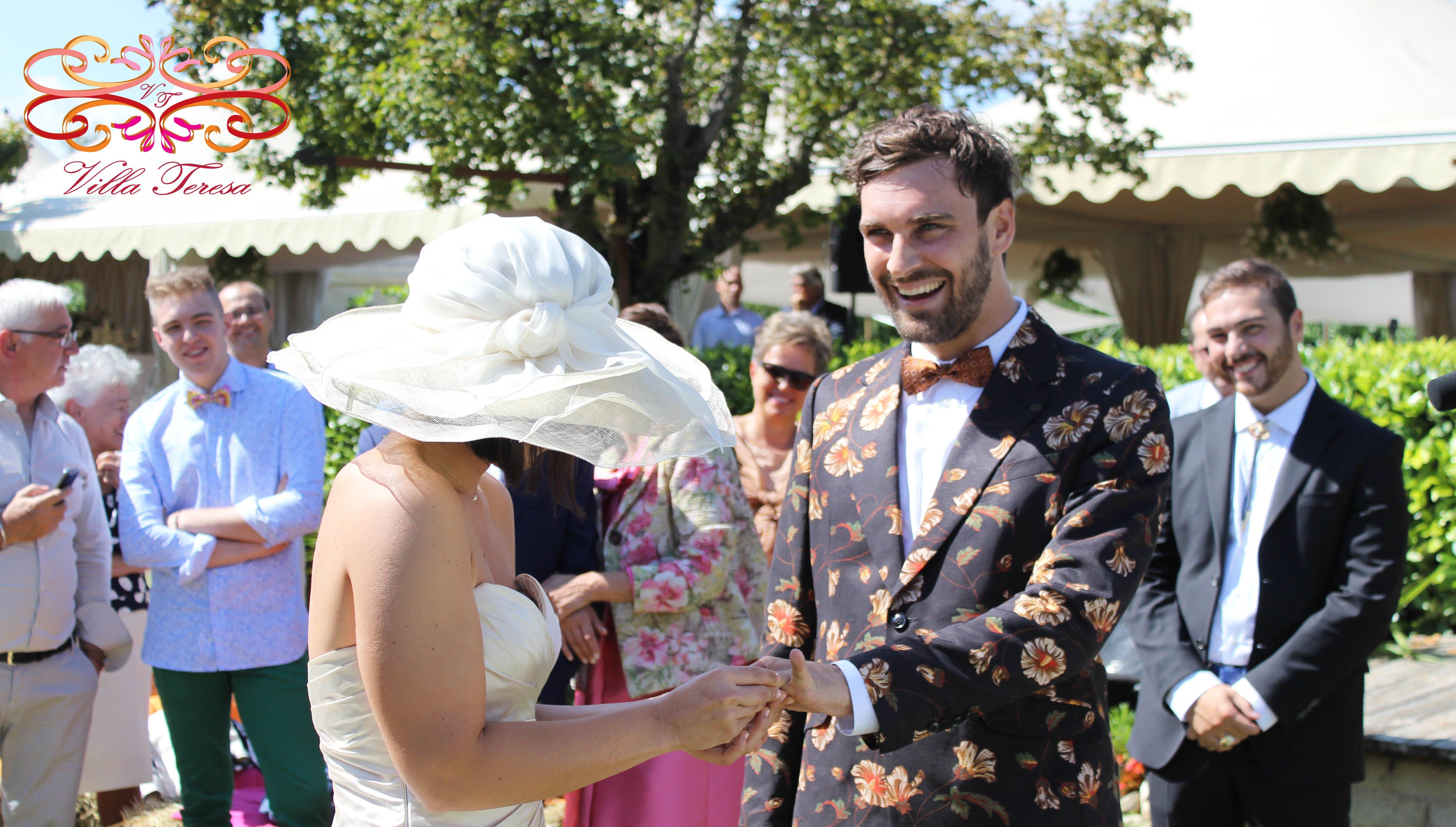 Matrimonio Civile, scambio anelli