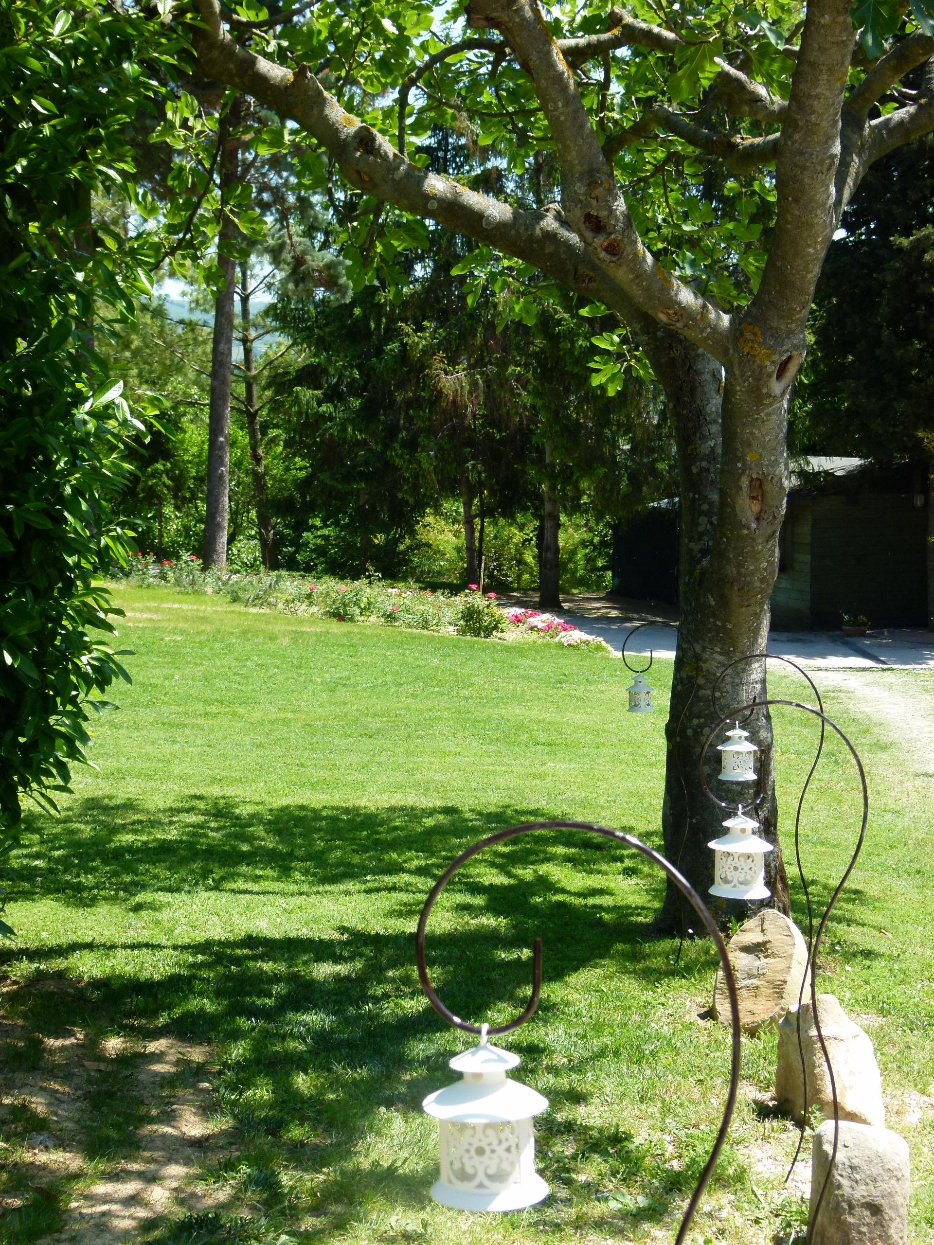 Ingresso giardino, da parcheggio