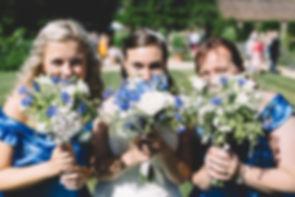 Hanham Court Gardens, bristol wedding, summer wedding, blue bouquet, blue wedding