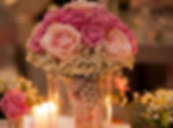 Roses, Centre Piece, Hampshire Wedding