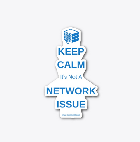 It's Not The Network - Sticker.png