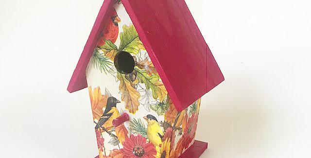 Finch A-frame Birdhouse