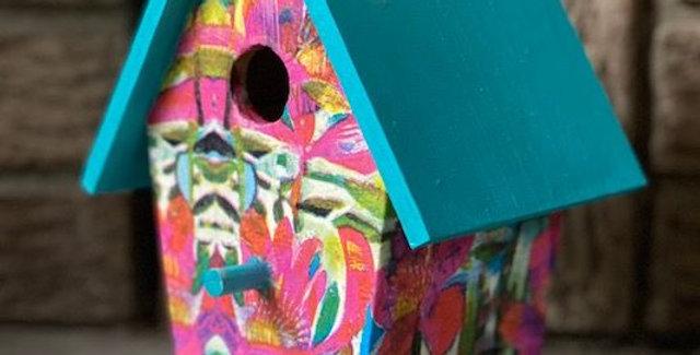 Summer Garden Birdhouse