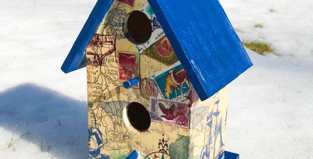 Around the World Birdhouse