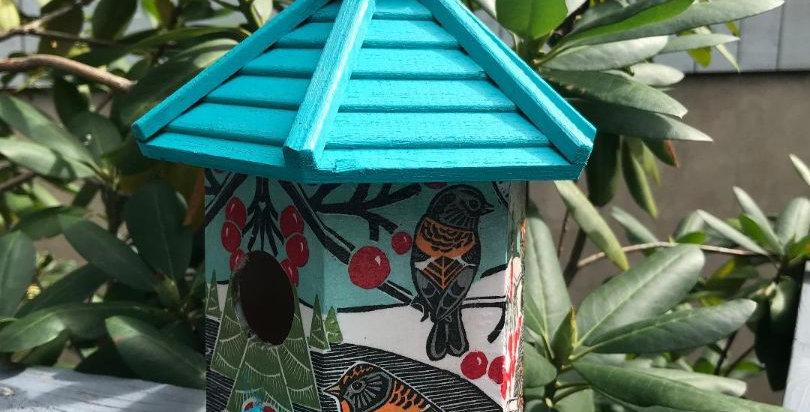 Birdies and Berries Birdhouse