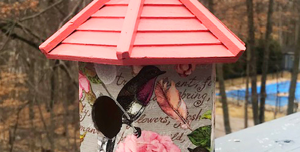 Botanical Bird Birdhouse