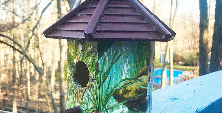 Duck Pond Birdhouse