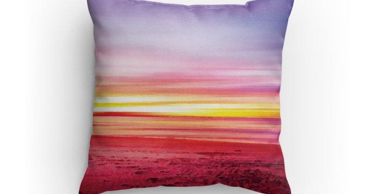 Beach at Sunset Pillow