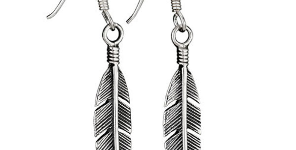 Small Feather Earring
