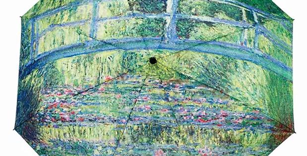 Monet Bridge Folding Umbrella