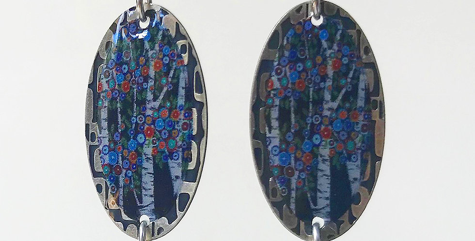 Trees and FlowersEarring