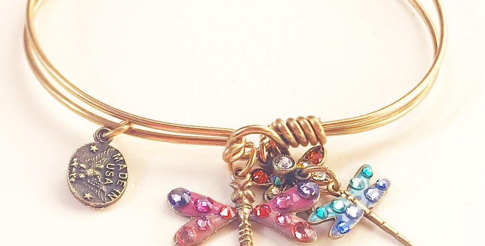 Dragonfly Bracelet by Anne Koplick