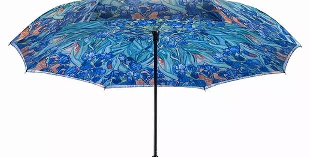 Van Gogh Irises RC Umbrella