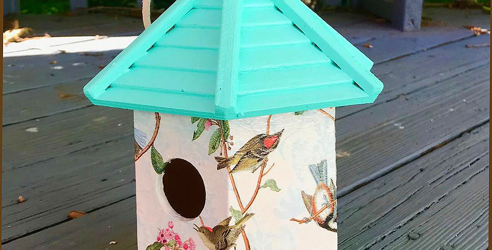 Branching Out Birdhouse