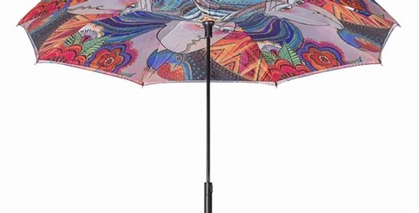 Abstract Reverse Close Umbrella