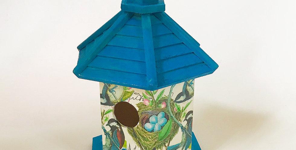Blue Bird Gazebo Birdhouse