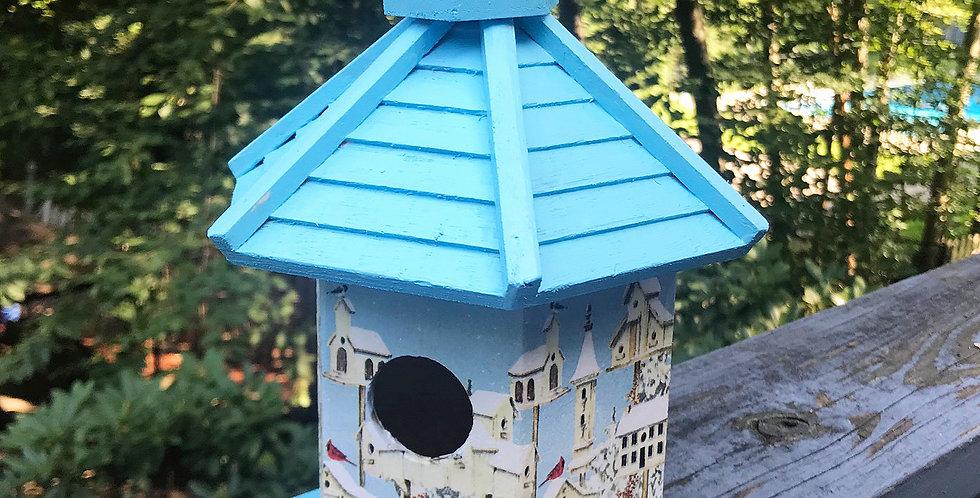 Winter is here Birdhouse