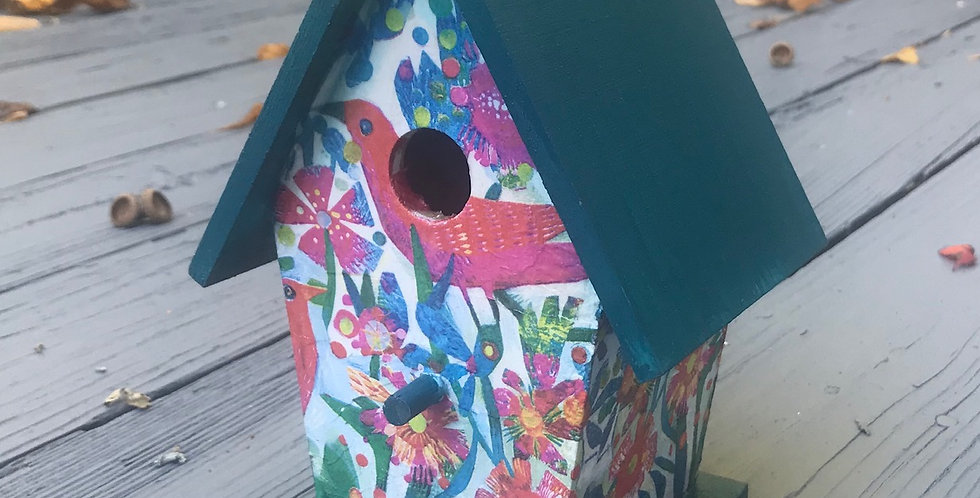 Small Fiesta Birdhouse