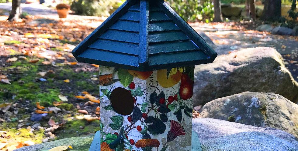 Birds and Pears gazebo Birdhouse