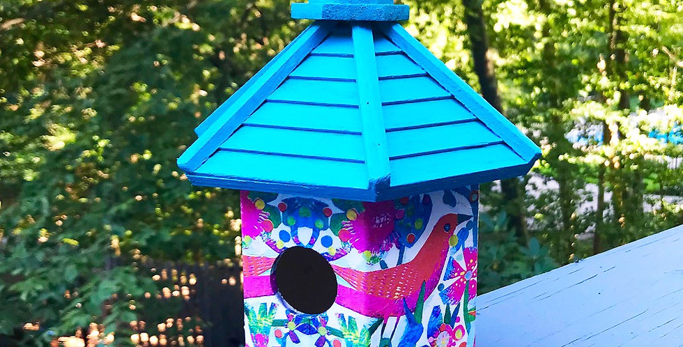 Fiesta Birdhouse