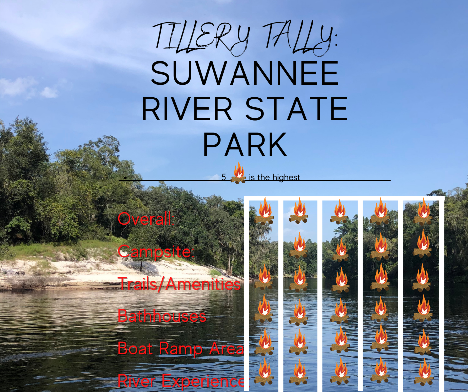 suwannee river state park and river roamin with tillerys sun tracker bass buggy