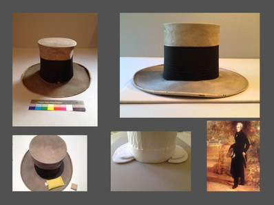 The conservation of Andrew Jackson's tophat
