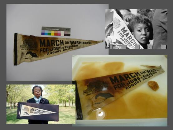 March on Washington pennant