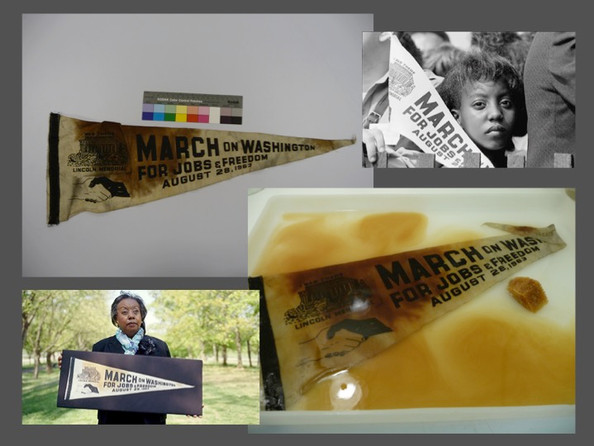March on Washington pennant