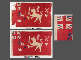 Conservation of an Asafo Flag