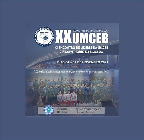 XX CONGRESSO UMCEB