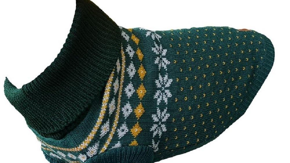 Fairisle Dog Jumper XL (26 cms)