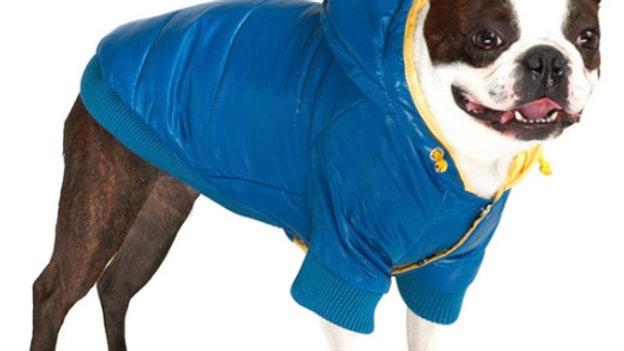 Blue Pathfinder Insulated Panel Dog Coat Size L