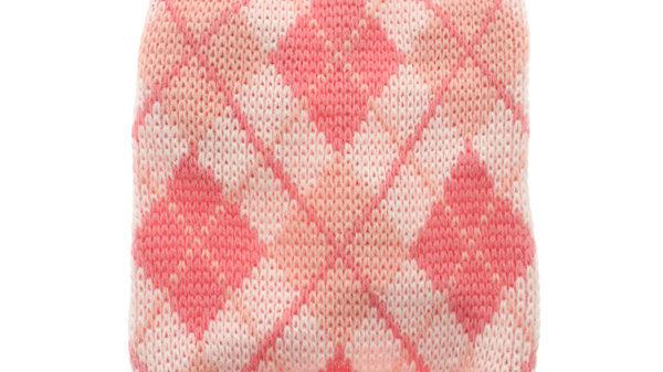 Urban Pup Pink Argyle Dog Sweater XL
