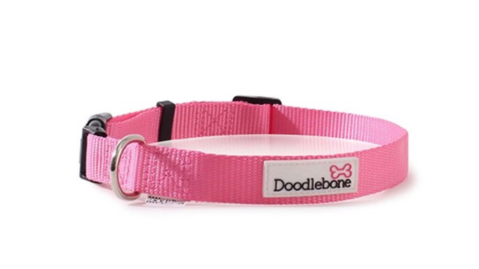 Doodlebone collar Pink size M