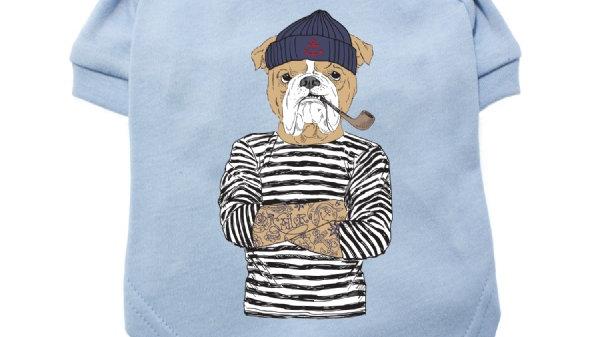 "Urban Pup ""Humanimals: Salty Sea Dog"" Dog T-Shirt L"