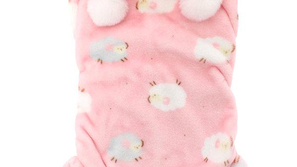 Urban Pup Baby Pink Dog Onesie/PJs XL