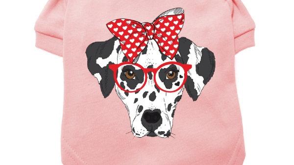 "Urban Pup ""Humanimals: Adorable Dalmation"" Dog T-Shirt L"
