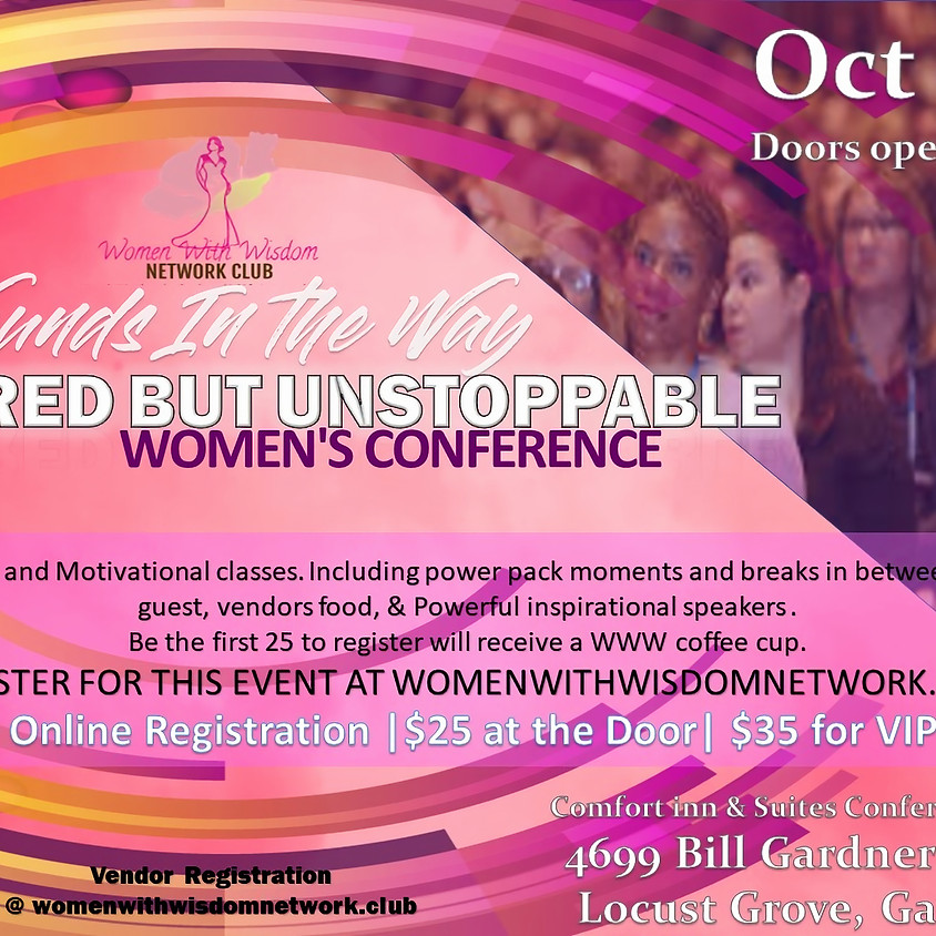 Scared But Unstoppable Womens Conference