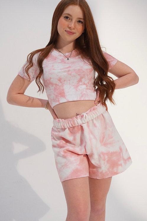Blush Sweat Shorts
