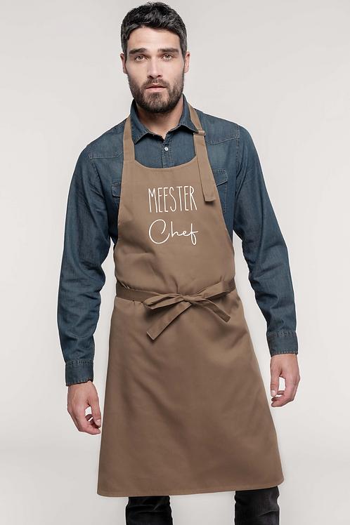 Keukenschort Meester Chef