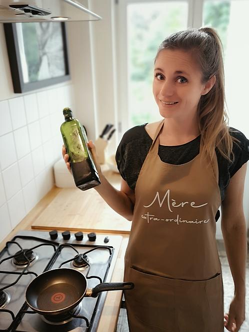 Mère extra-ordinaire keukenschort in verpakking