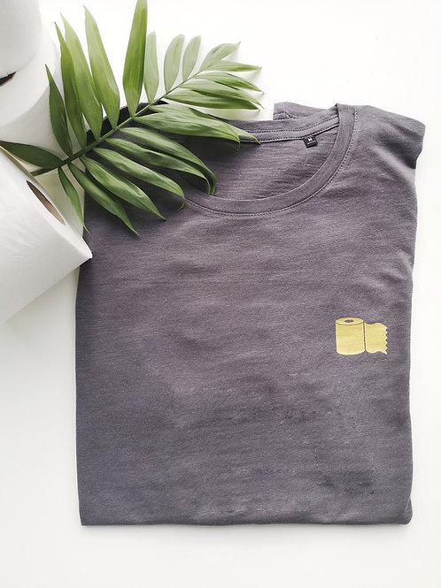 T-shirt golden toiletpaper - VROUW