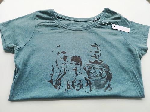 T-shirt met bewerkte foto