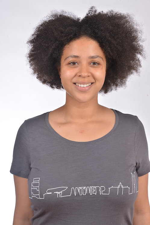 T-shirt Antwerp skyline