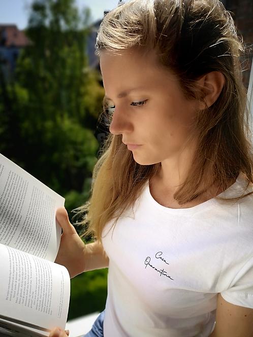 Casa Quarantina T-shirt - Lila opdruk