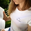 Thumbnail: Casa Quarantina T-shirt - Lila opdruk