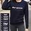 Thumbnail: Gepersonaliseerde trui vrouwen - Blauw
