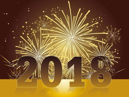 Bonne nouvelle année 2018 à tous !