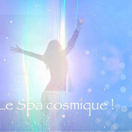 Le Spa cosmique ! Un massage énergétique fait de la pure lumière provenant de la Conscience christiq