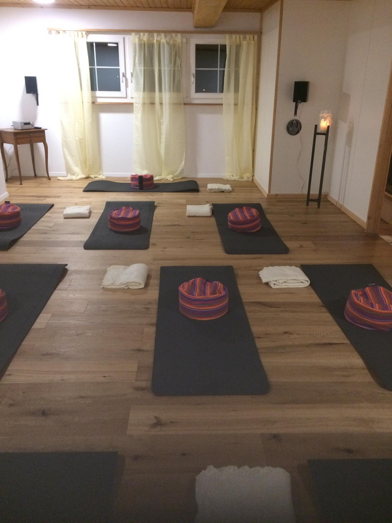 Neuer Yogaraum Mollis